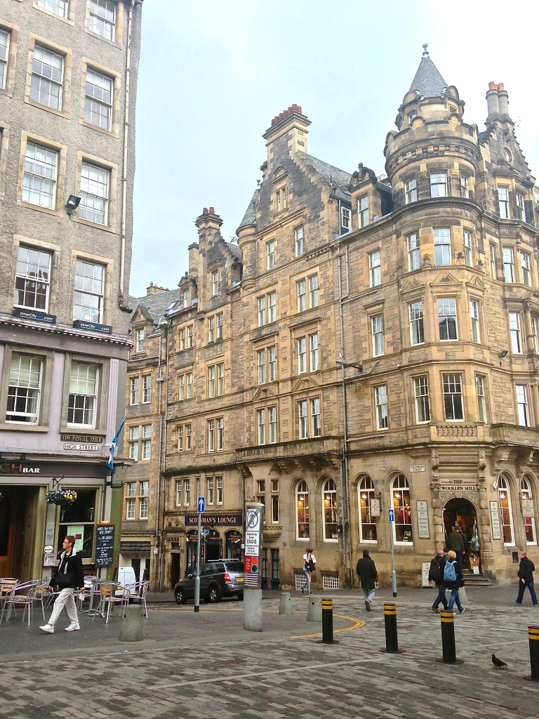 Another part of The Royal Mile.