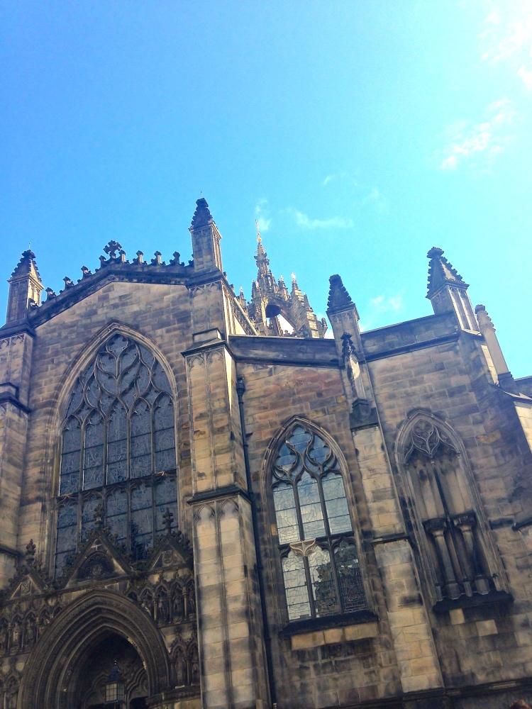 St. Giles' Cathedral aka High Kirk of Edinburgh